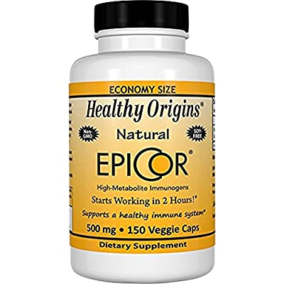 Healthy Origins EpiCor (Clinically Proven Immune Support) 500 mg