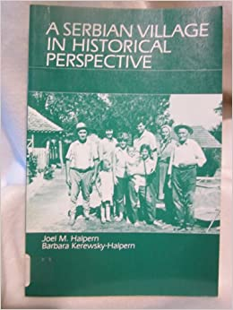 Book A Serbian Village in Historical Perspective