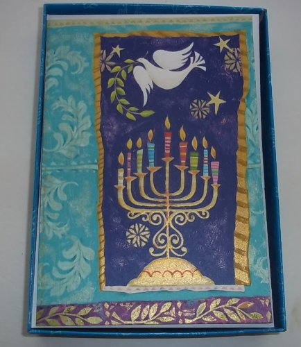 Unicef Happy Hanukkah Boxed Cards Set of 12