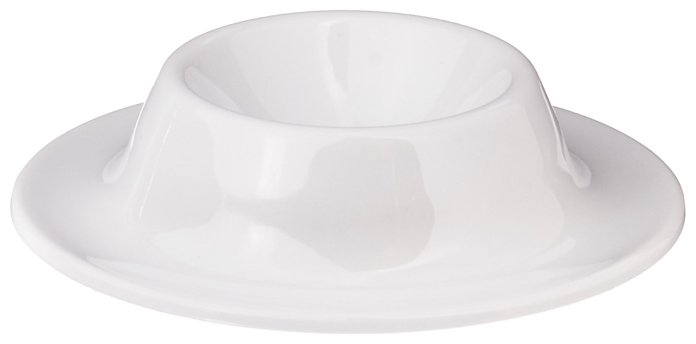 Paderno World Cuisine 41597-04 Melamine Egg Cup (Set of 4), White
