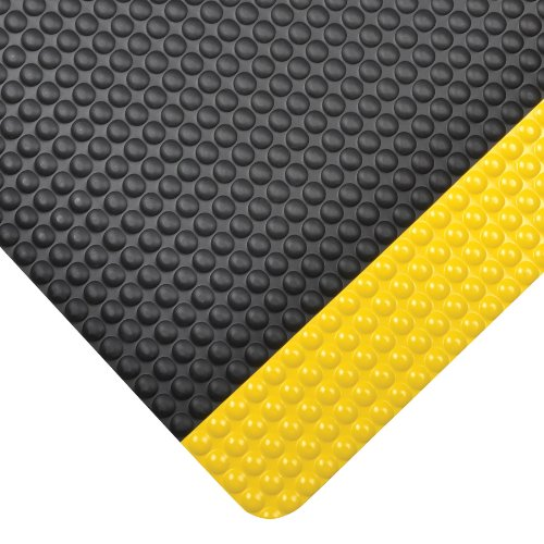- NoTrax 982 Bubble Trax Grande Safety/Anti-Fatigue Floor Mat with Vinyl Top Surface, for Dry Areas, 2' Width x 3' Length x 1