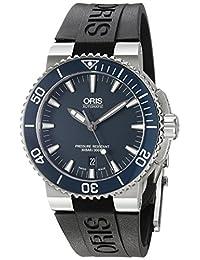 New Oris Aquis Date Mens Divers Watch 733 7653 41 55 Rs