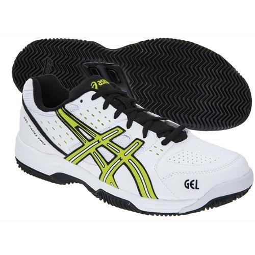 ASICS Gel-Padel Pro 2 SG - Zapatillas para hombre, color negro/blanco / rosa/gris, talla 44: Amazon.es: Zapatos y complementos