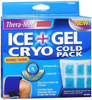 Thera-Med Ice + Gel Cryo Cold Pack Medium – cada una, paquete de 2 ...