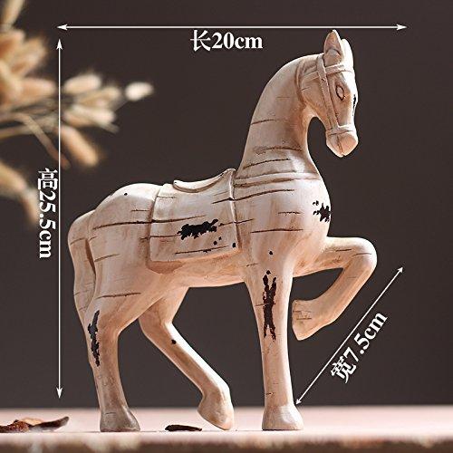 el mas reciente Retro Retro Retro Horse Powzz ornament Decorativa Interior Muebles De Alces Nórdicos, Adornos para El Hogar, Regaños De Boda, Decoración, Regaños, Accesorios, Caballo Retro.  Garantía 100% de ajuste