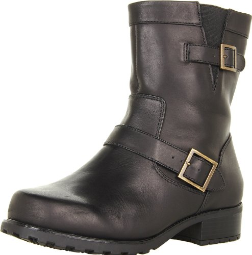 Softwalk Women's Bellville Boot,Black,8 M US by SoftWalk