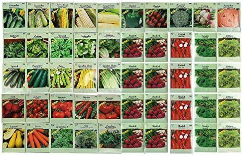 Assorted Heirloom Vegetable Varieties Non GMO product image