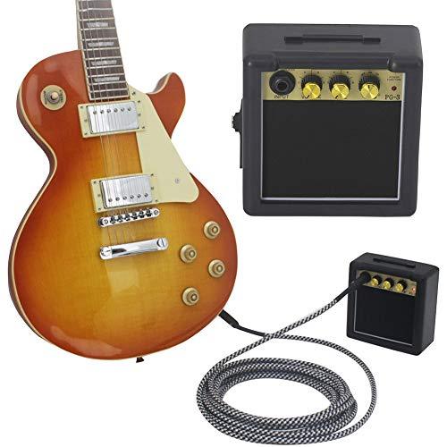 yunbox299 Portable Guitar Amplifier Loudspeaker, PG-3 Mini Portable Electric Guitar Practice Battery Power Amplifier - Mini Drive Loudspeaker