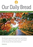 Our Daily Bread – October / November / December 2018