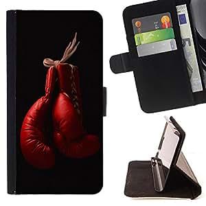 King Art - Premium-PU-Leder-Prima caja de la PU billetera de cuero con ranuras para tarjetas, efectivo Compartimiento desmontable y correa para la mu?eca FOR Samsung GALAXY G850 SM-G850F G850Y G850M- Never Hit Soft Boxing