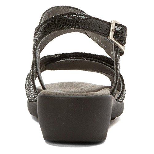 Wolky Confort Court Chaussures Bond Noir Crash Daim