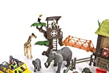 Constructive Playthings CP Toys 55 pc. Jungle