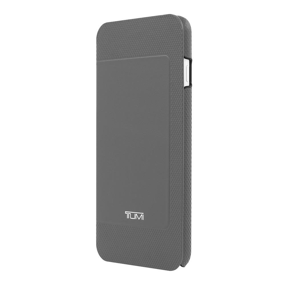 best sneakers 917d4 d5fc2 Tumi Leather Folio Case Gray for Apple iPhone 6+/6s Plus TUIPH-005 ...