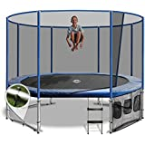 8x12 Oval Summit Trampoline With 200kg Weight Capacity, Long Warranty and Free Delivery
