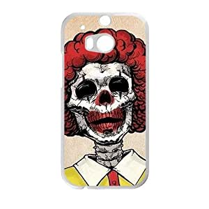 Personalized Creative Cell Phone Case For HTC M8,fuuny interesting joker