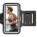 Armband For iPhone 7 Plus/6 Plus/6S Plus, Newild Water Resistant Sports with Key and Card Holder for 5.5 Inch,Galaxy S6/S5,Note 4. Durable Adjustable,Reflective Stripes for Safety During Night Running