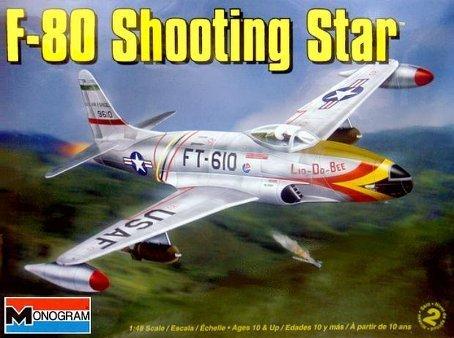 Revell Monogram 1:48 Scale F-80 Shooting Star Diecast Model Kit by Revell - Revell Monogram Star