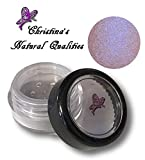 Christina's Natural Qualities All Natural Mineral Powder Rainbow Pearl Eye Color (Eyeshadow) - Camelot Rainbow (Pink Blue Iridescent)