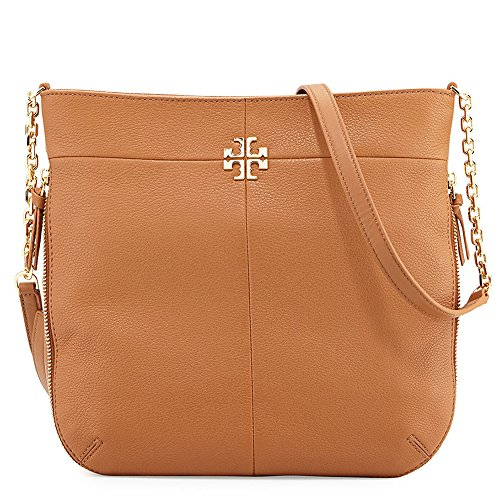 Tory Burch Ivy Leather Convertible Shoulder Crossbody Bag - Bag Tory Burch Brown