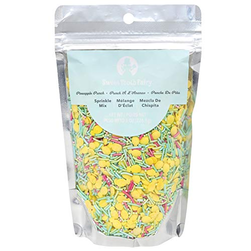 (Sweet Tooth Fairy 350392 Pineapple Punch Sprinkles Multicolor)