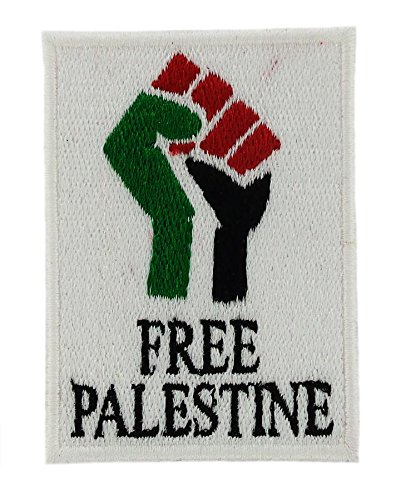 Patch Ecusson Brode Thermocollant Drapeau Palestine Free Flag Sew On