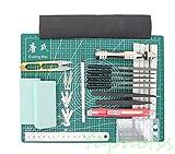 25 PCS Gundam Modeler Basic Tools Craft Set For Car Model Assemble Building