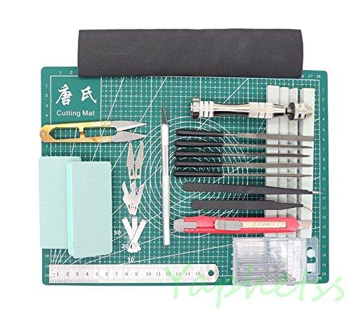25 PCS Gundam Modeler Basic Tools Craft Set For Car Model Assemble