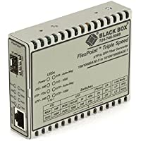 Black Box LMC1017A-SMSC FLEXPOINT MEDIA CONVERTER, 10BASE-T/100B