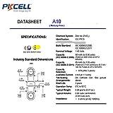 30 Pcs P10 A10 Size 10 1.4V Hearing Aid Batteries