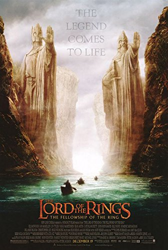 Of Ring The Poster Fellowship Movie - POSTER STOP ONLINE The Lord Of The Rings - The Fellowship Of The Ring - Movie Poster: Argonath Teaser (Size: 27'' x 40)