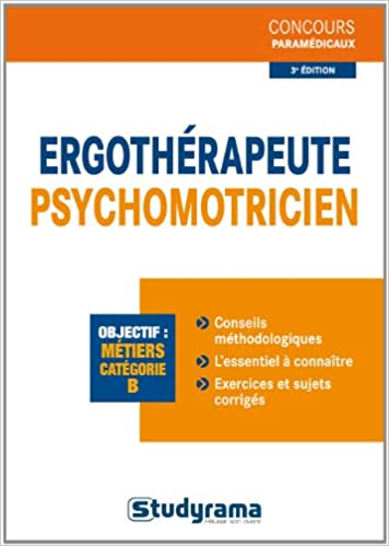 Ergothérapeute-psychomotricien Concours paramédicaux: Amazon.es: Caroline Binet, Perrine Champetier, Florence Colonna, Albina Dallan, Collectif: Libros en ...