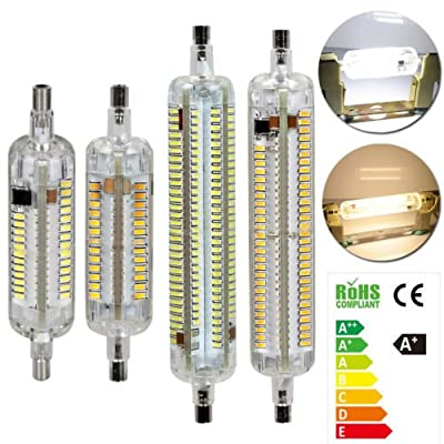 TBAO R7S 78mm 118mm 104LEDs 232LEDs 10W 15W AC 220-240V Silicone Light LED Halogen lamp