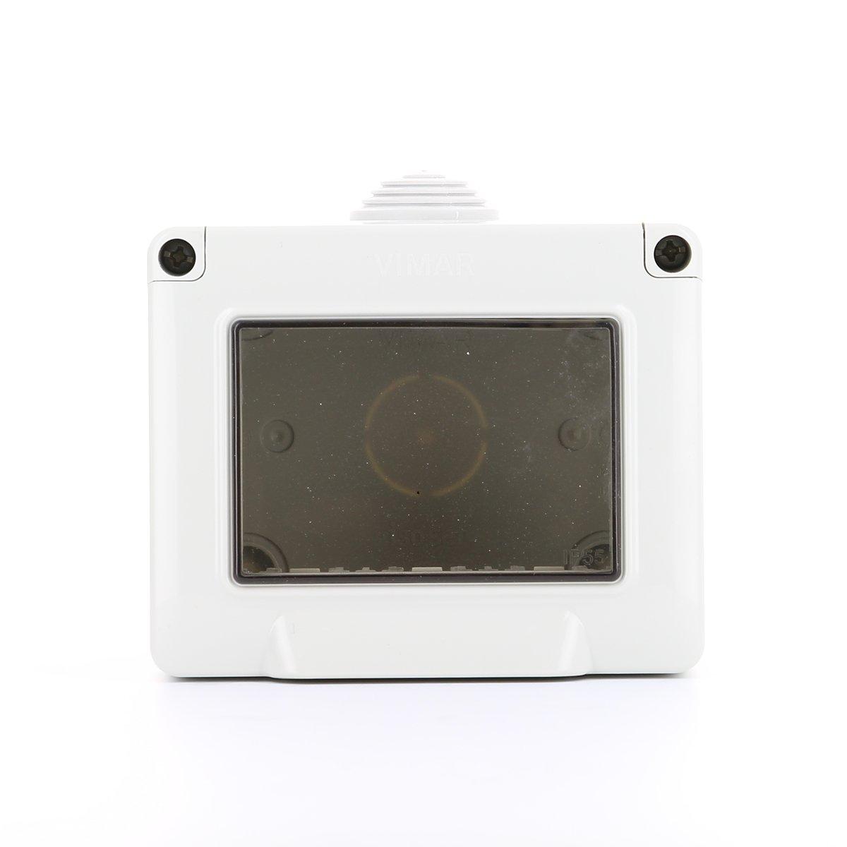 Vimar Eikon Series Surface scatole box IP55/3/modulo//Series Flat