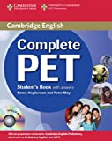 Complete Pet. Student's book. With answers. Per le Scuole superiori. Con CD-ROM