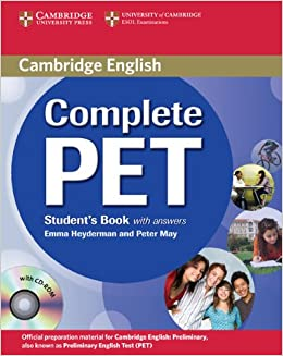 buy complete pet student s book with answers with cd rom book online