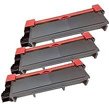 3 Inkfirst® Toner Cartridges TN-630 (TN630) TN-660 (TN660) Compatible Remanufactured for Brother TN-630 Black MFC-L2700DW MFC-L2720DW MFC-L2740DW HL-L2300D HL-L2305W HL-L2320D HL-L2340DW HL-L2360DW HL-L2380DW DCP-L2520DW DCP-L2540DW