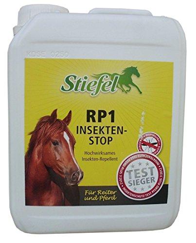 RP1 Insektenstop Kanister 2500 ml für Pferde l Stiefel | Stiefel RP1 Insektenstop | Insektenschutz | Fliegenschutz für Pferde