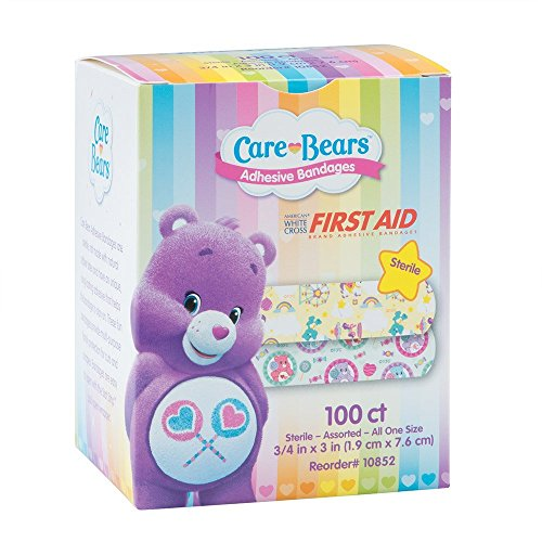 Care Bears Bandages - First Aid Supplies - 100 per Pack -