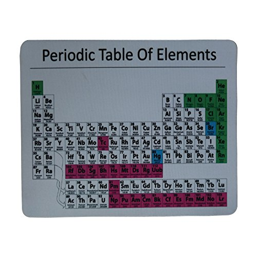 Schoolsupplies Periodic Table Mouse Pad Periodic Table Mouse Pad Great Teacher, Geek, Nerd and Smart Guy (Nerd Office Supplies compare prices)