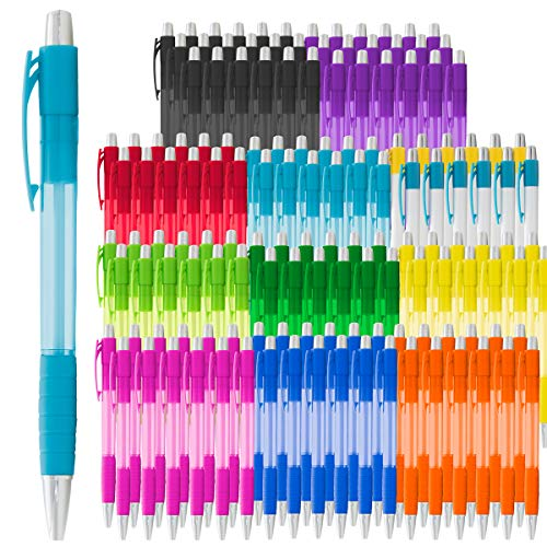 LGI (144 Count) Pens Bulk Assortment Retractable Ballpoint Pens Black Ink Medium Point for Office