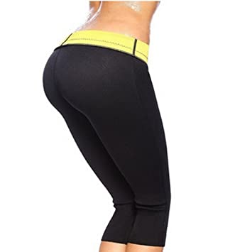 d71f8f4080 Image Unavailable. Image not available for. Color  Hot Shapers Women Capri Pants  Leggings ...