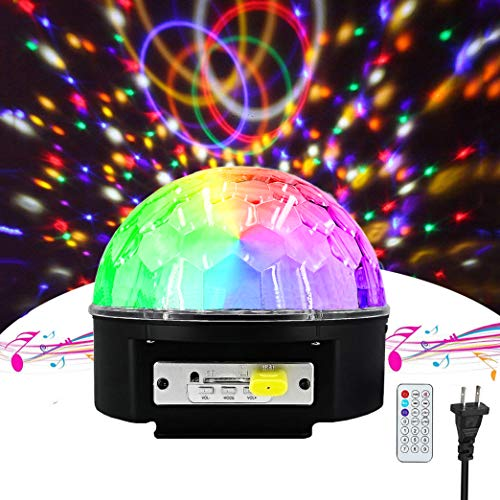 Crystal Magic Ball Led Light in US - 1
