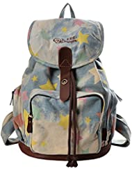 DGY Women Retro Canvas Backpack Casual Backpack for Girls School Backpack