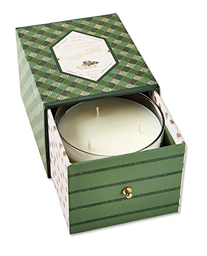 Orvis Music Box Candle Evergreen Jar Candle