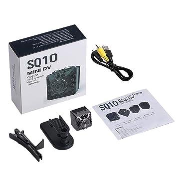 ehind Mini Camara Espia Oculta Videocámara 1080P con Visión Nocturna HD De Niñeras Seguridad para El