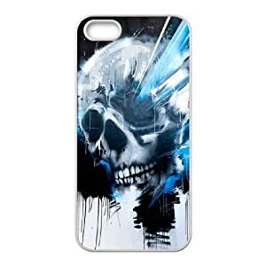 Colorful skeleton CHA8049653 Phone Back Case Customized Art Print Design Hard Shell Protection Iphone 5,5S