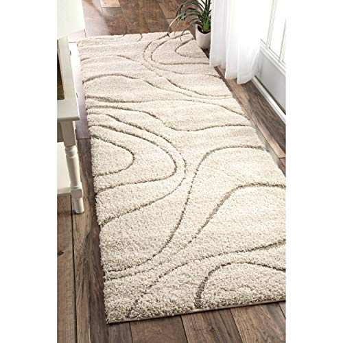 nuLOOM Carolyn Cozy Soft & Plush Shag Runner Rug, 2' 8