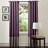 Lush Decor Prima Window Curtains – One Pair For Sale