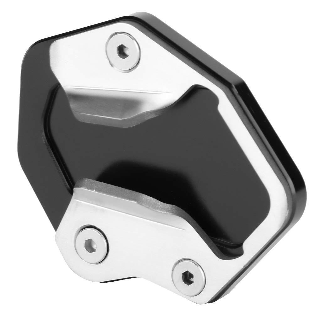 compatibile con Triumph Tiger 800 2013-2019 Allargatore for cavalletto laterale in alluminio for CNC Cavalletto for moto