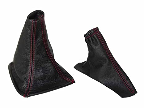 The Tuning-Shop Ltd For Bmw Z3 1995-2002 Shift /& E Brake Boot Black Leather